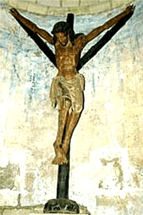 Crucificado y Cruz Y